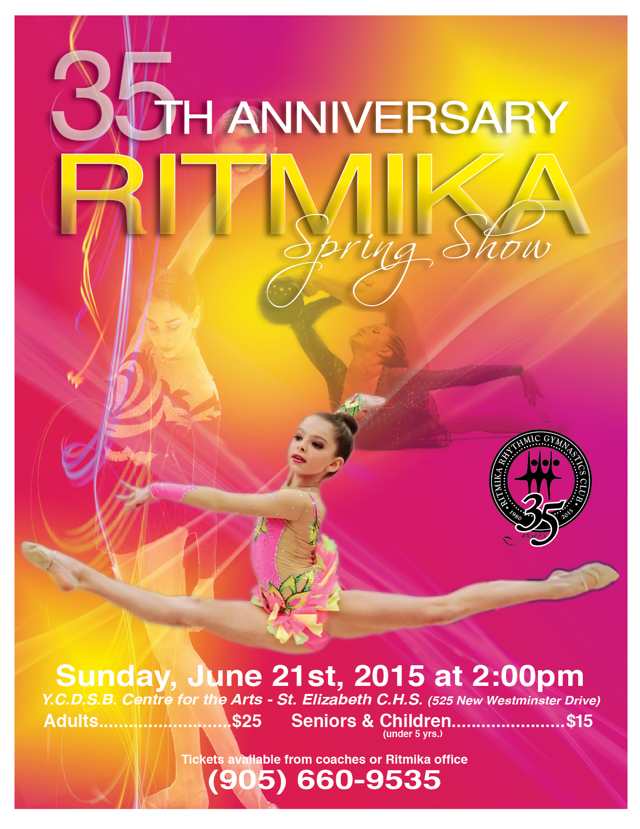 ritmika 35th annual spring show
