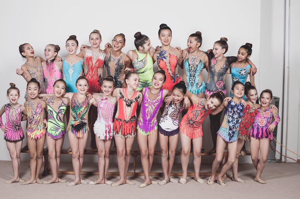 Ritmika Rhythmic Gymnastics Team 2016/2017