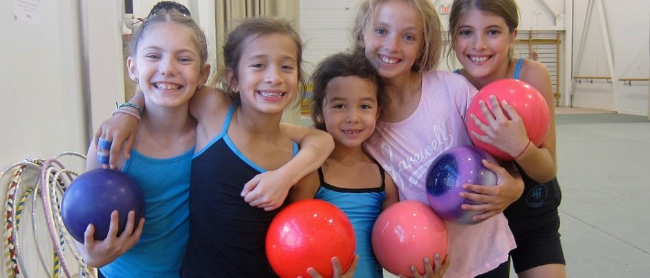 Rhytmic Gymnastics Summer Camp